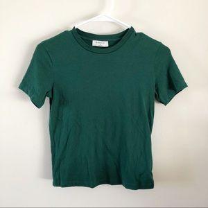 BABATON | Forest Green Tee Shirt Sz XS
